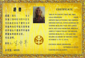 Certifikat Zin ping 3